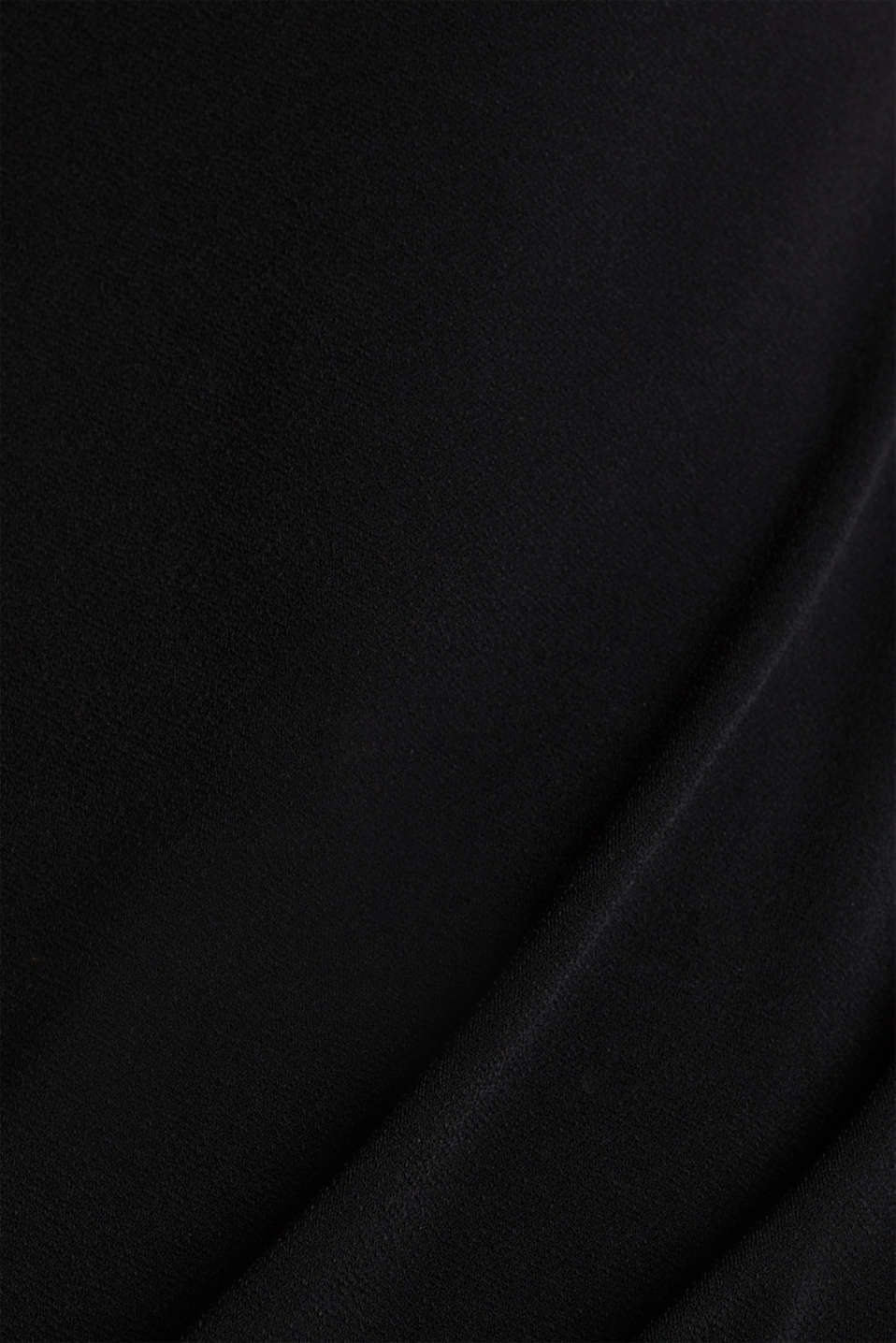 Jersey jumpsuit with lace back, BLACK, detail image number 4