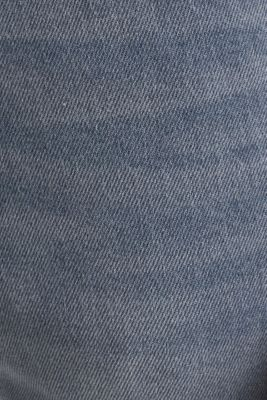 Basic jeans with organic cotton, GREY LIGHT WASH, detail