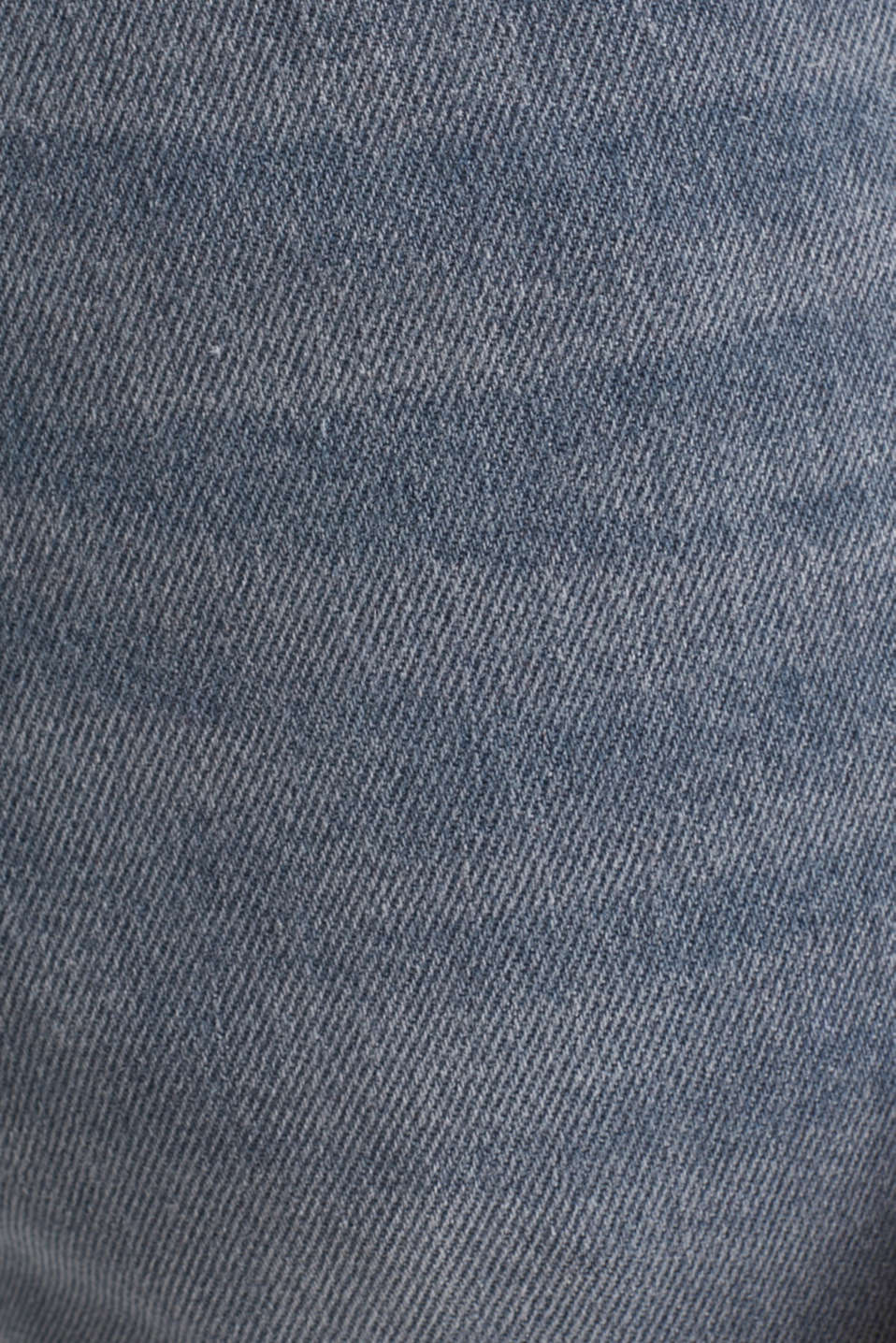 Basic jeans with organic cotton, GREY LIGHT WASH, detail image number 4