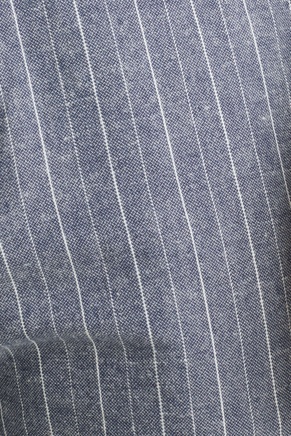 Blended linen: Drawstring trousers, BLUE, detail image number 4