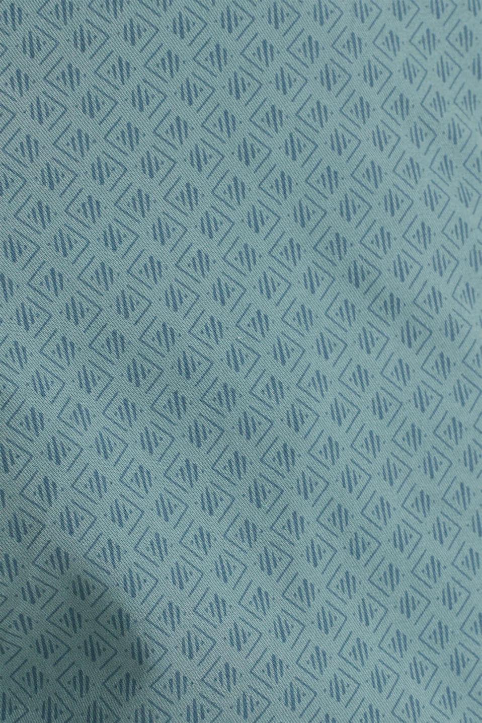 Organic cotton Shorts + belt, TEAL GREEN, detail image number 4
