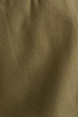 Cargo Bermudas in 100% cotton, OLIVE, detail