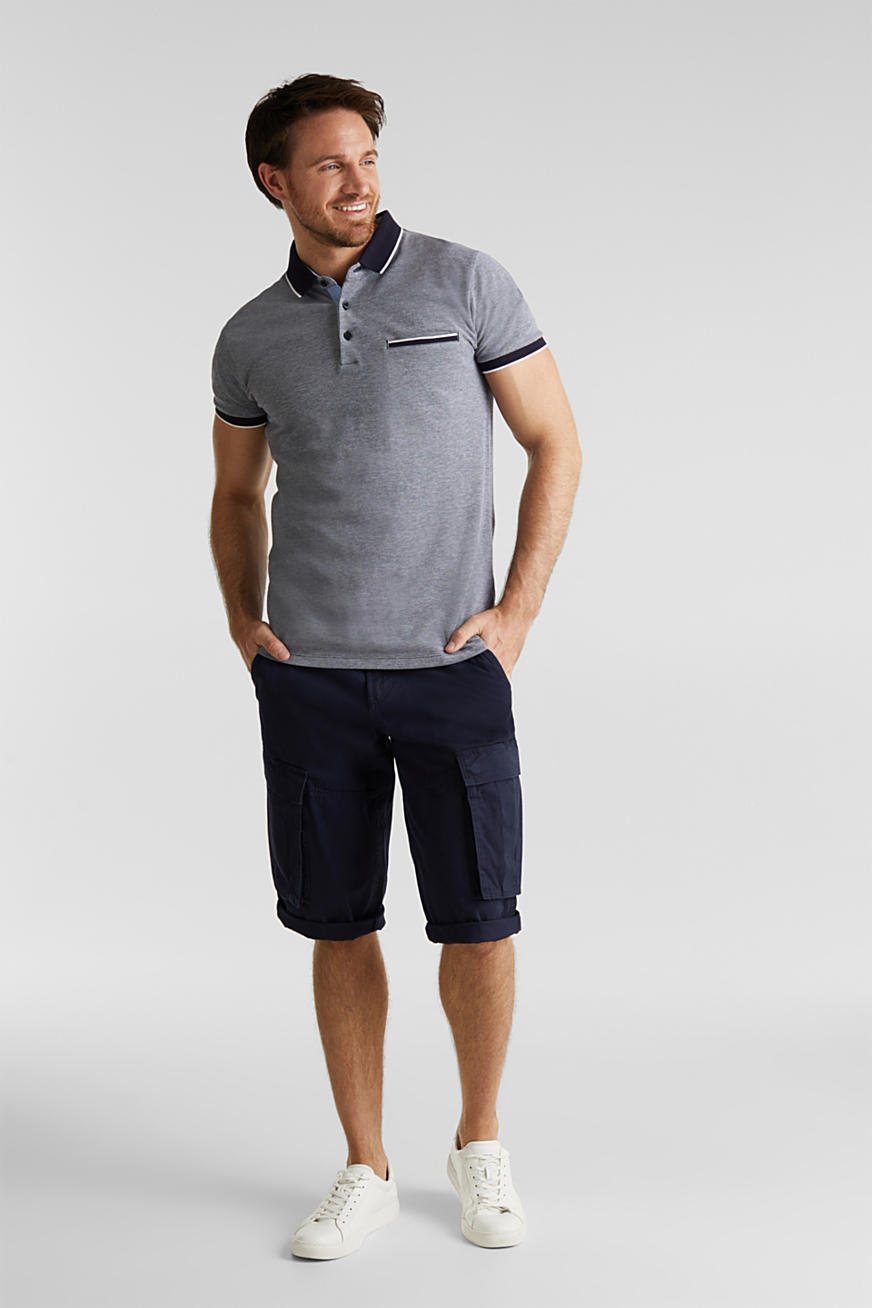 Cargo Bermudas in 100% cotton