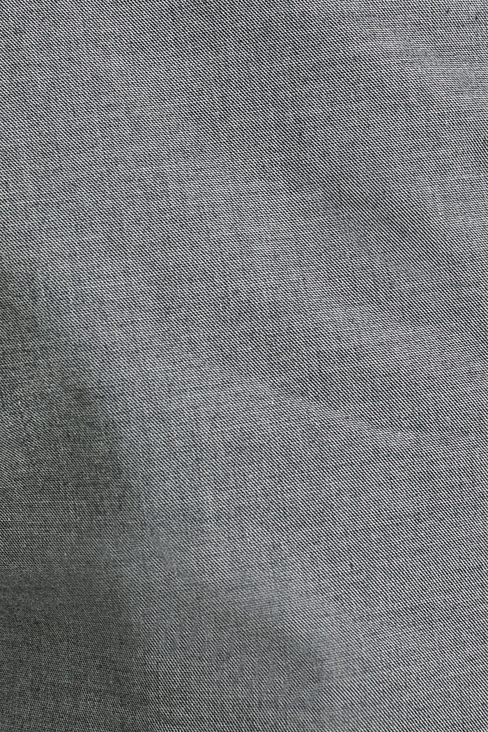 Bermudas with organic cotton, DARK GREY, detail image number 3
