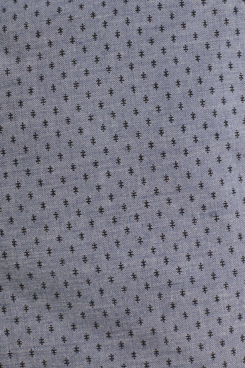 Printed stretch cotton shorts, DARK BLUE 5, detail image number 4