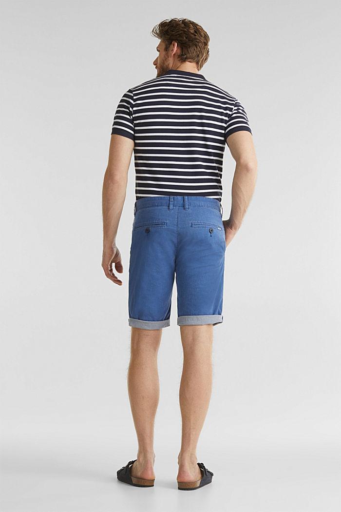 Shorts mit Wasch-Effekt, BLUE, detail image number 3