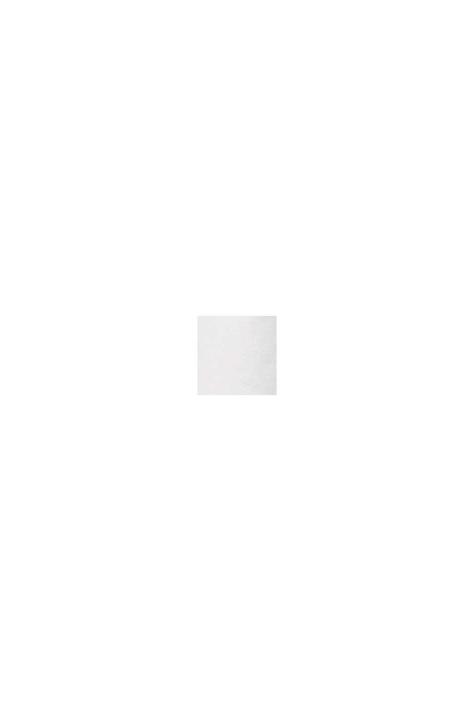 Met linnen: bermuda met ceintuur, WHITE, swatch