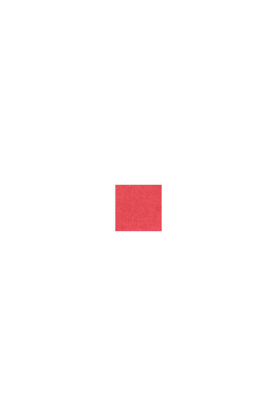 Met linnen: bermuda met ceintuur, ORANGE RED, swatch
