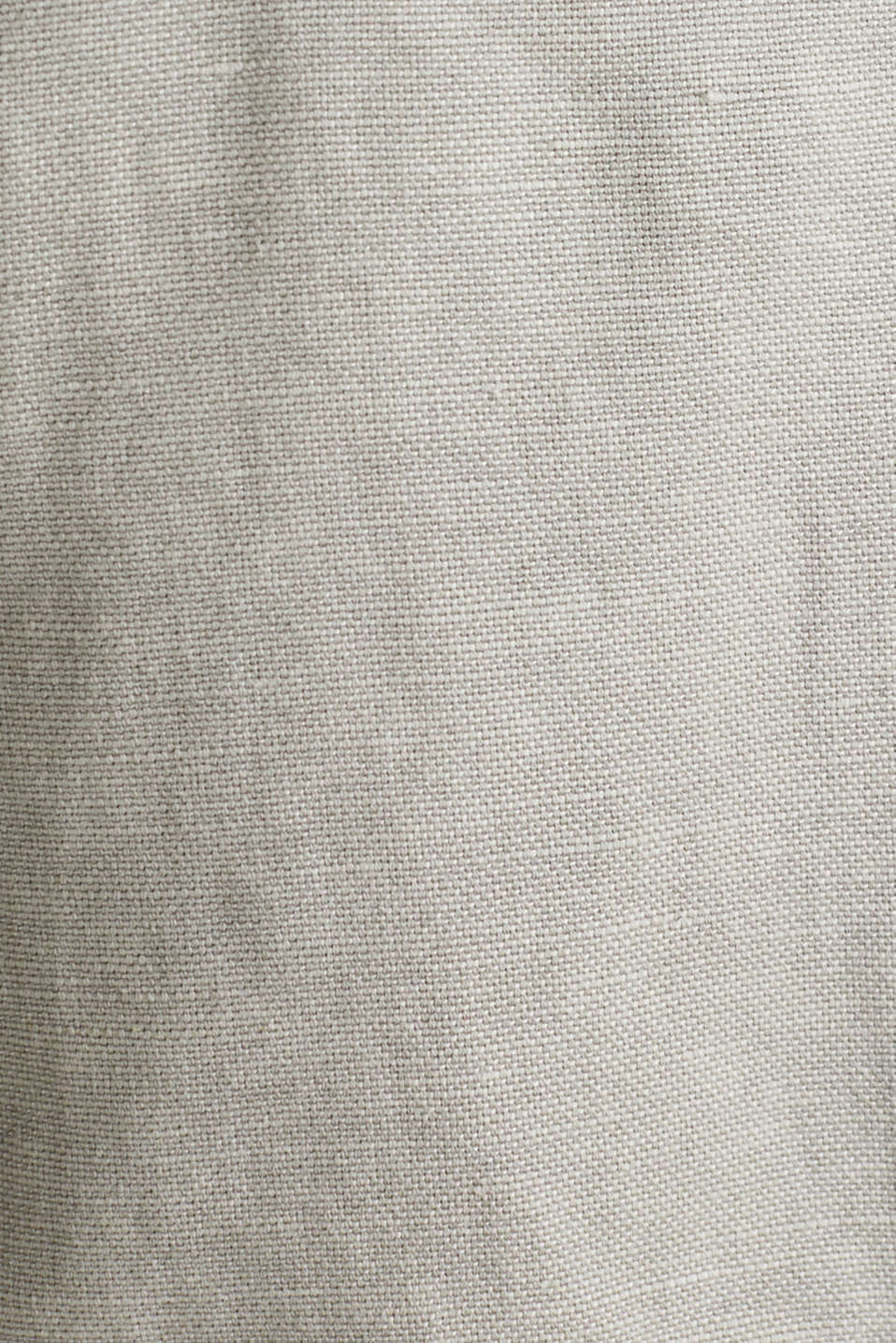 With linen: cargo shorts, LIGHT GREY, detail image number 4