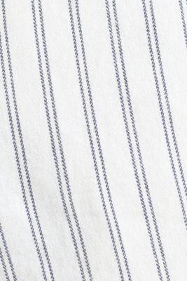 With linen: striped Bermudas, WHITE 3, detail