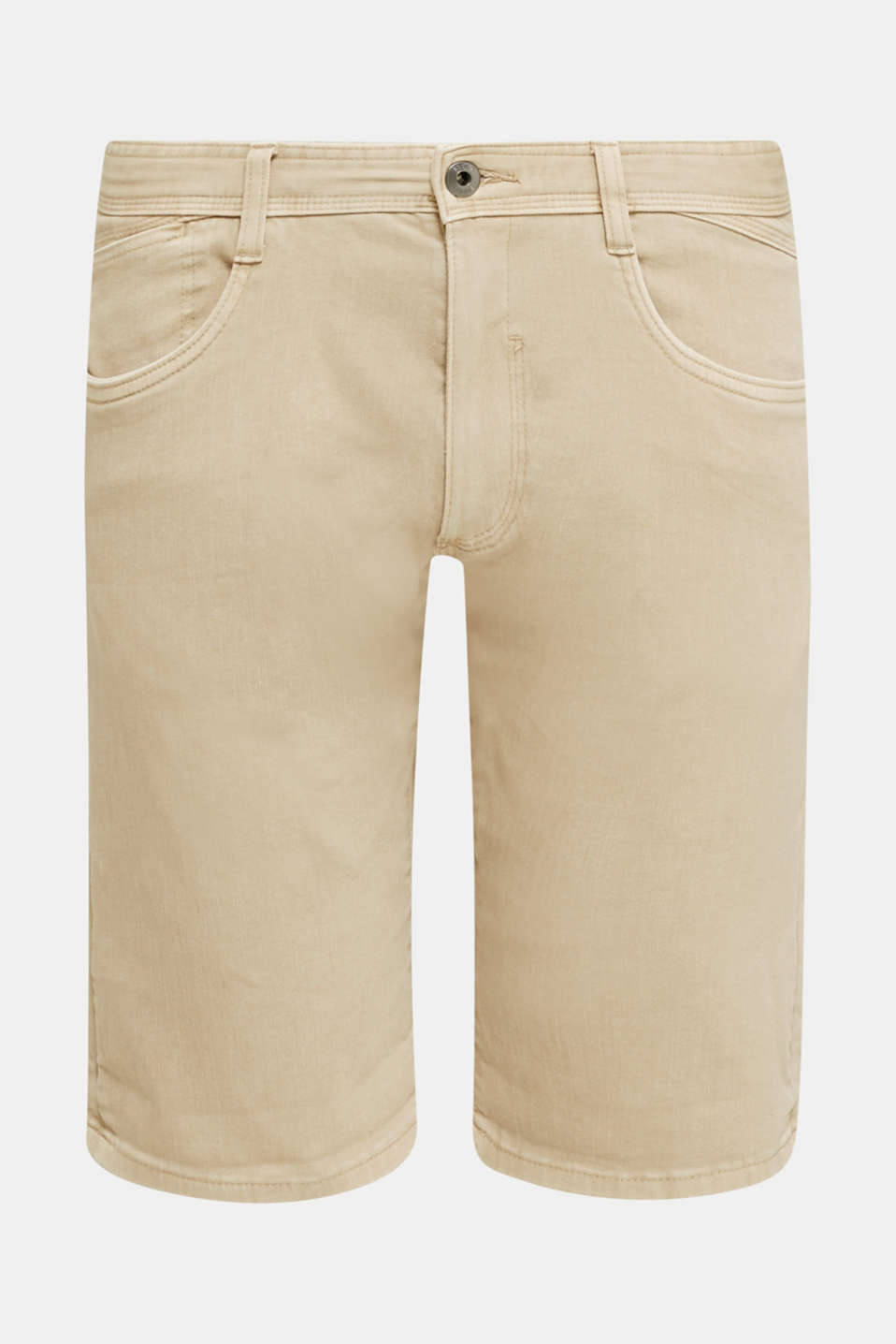 EarthColors®: Stretch Bermuda shorts, BEIGE, detail image number 6