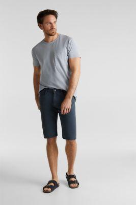 EarthColors®: Stretch Bermuda shorts, DARK BLUE, detail