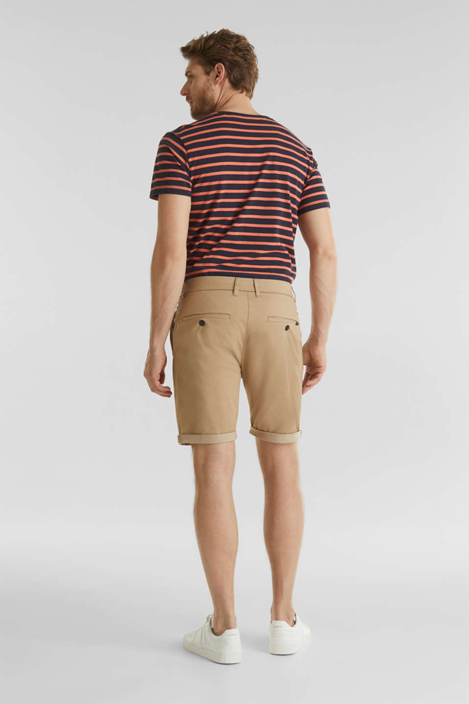 Shorts with COOLMAX®, organic cotton, BEIGE, detail image number 3