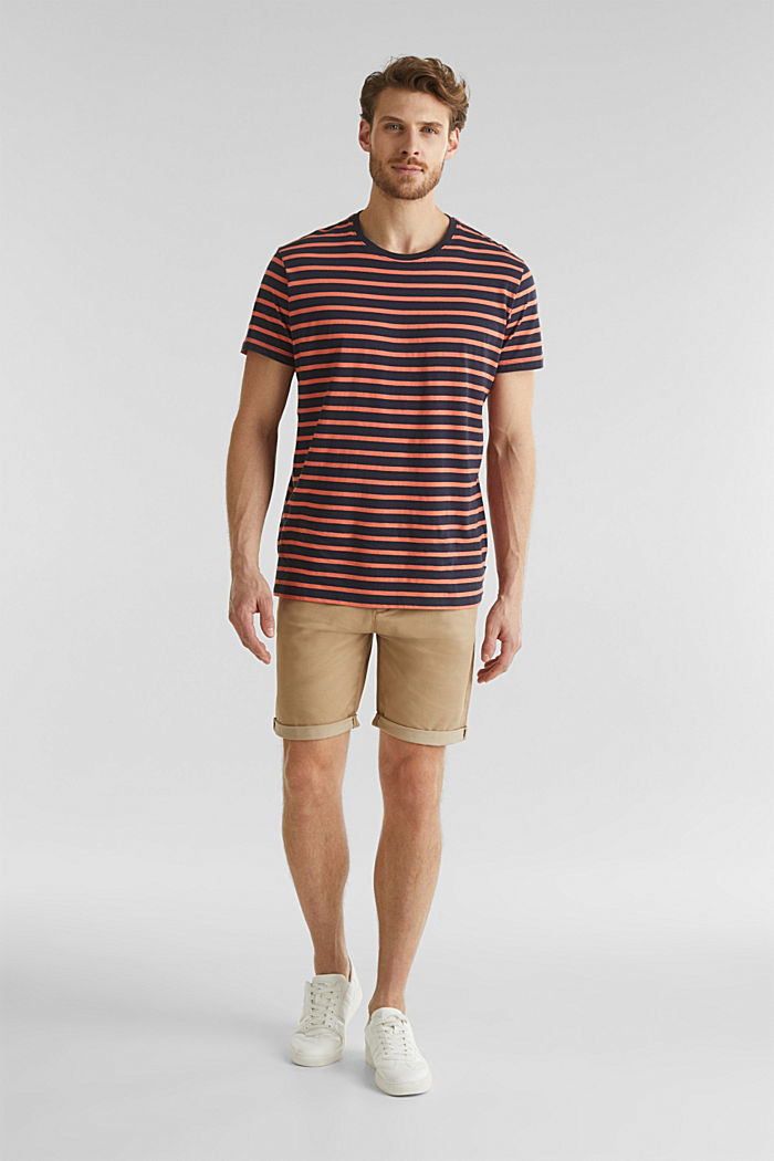Shorts mit COOLMAX®, Organic Cotton, BEIGE, detail image number 1