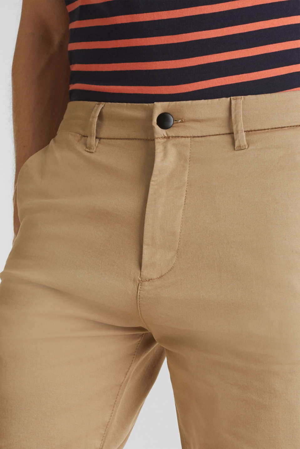 Shorts with COOLMAX®, organic cotton, BEIGE, detail image number 2