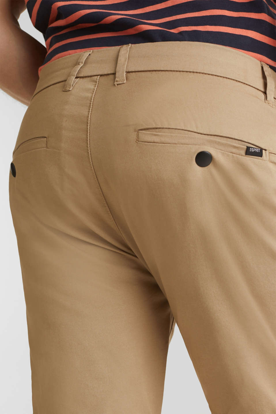 Shorts with COOLMAX®, organic cotton, BEIGE, detail image number 5
