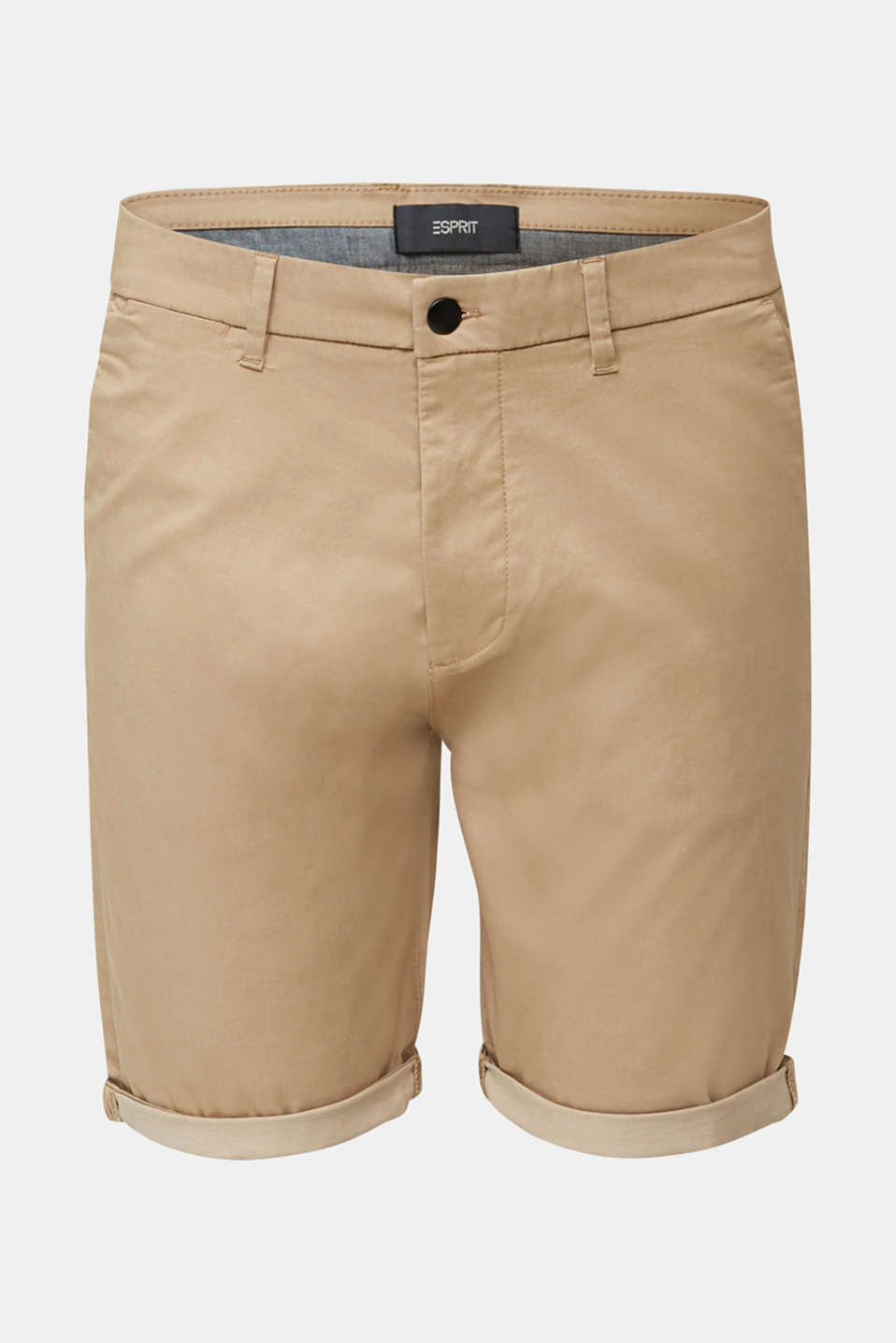 Shorts with COOLMAX®, organic cotton, BEIGE, detail image number 6