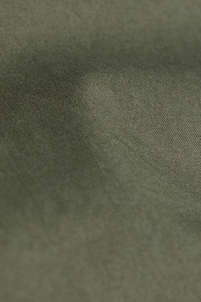 Shorts with COOLMAX®, organic cotton, LIGHT KHAKI, detail image number 4