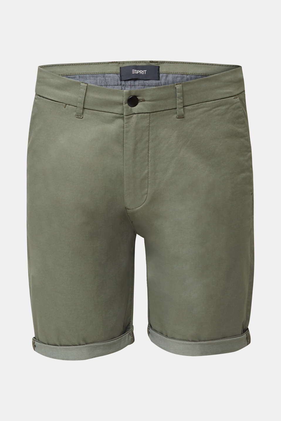 Shorts with COOLMAX®, organic cotton, LIGHT KHAKI, detail image number 7