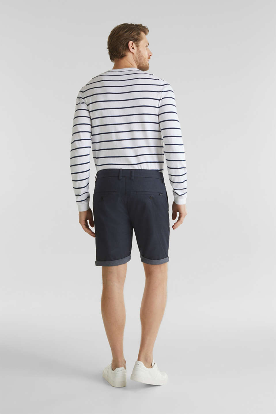 Shorts with COOLMAX®, organic cotton, NAVY, detail image number 3