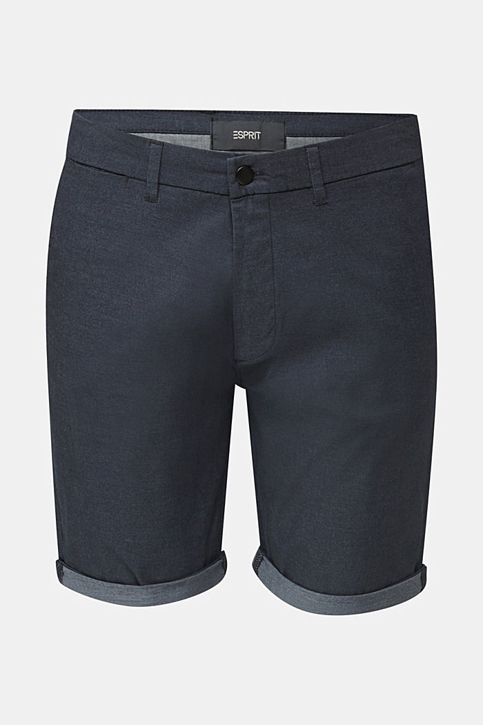 Shorts with COOLMAX®, organic cotton, NAVY, detail image number 6
