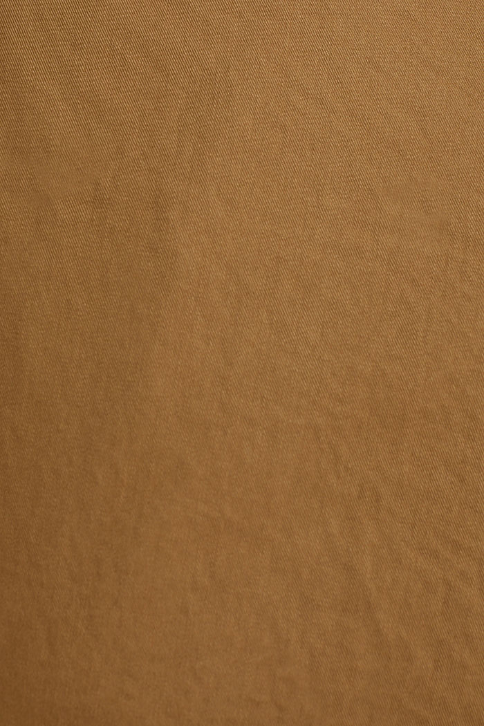 Cargo shorts made of 100% cotton, CAMEL, detail image number 4
