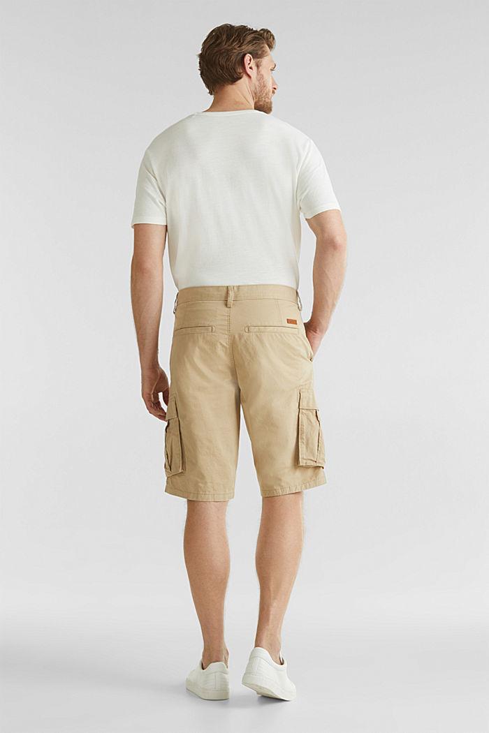 Cargo-Short aus 100% Baumwolle, BEIGE, detail image number 3