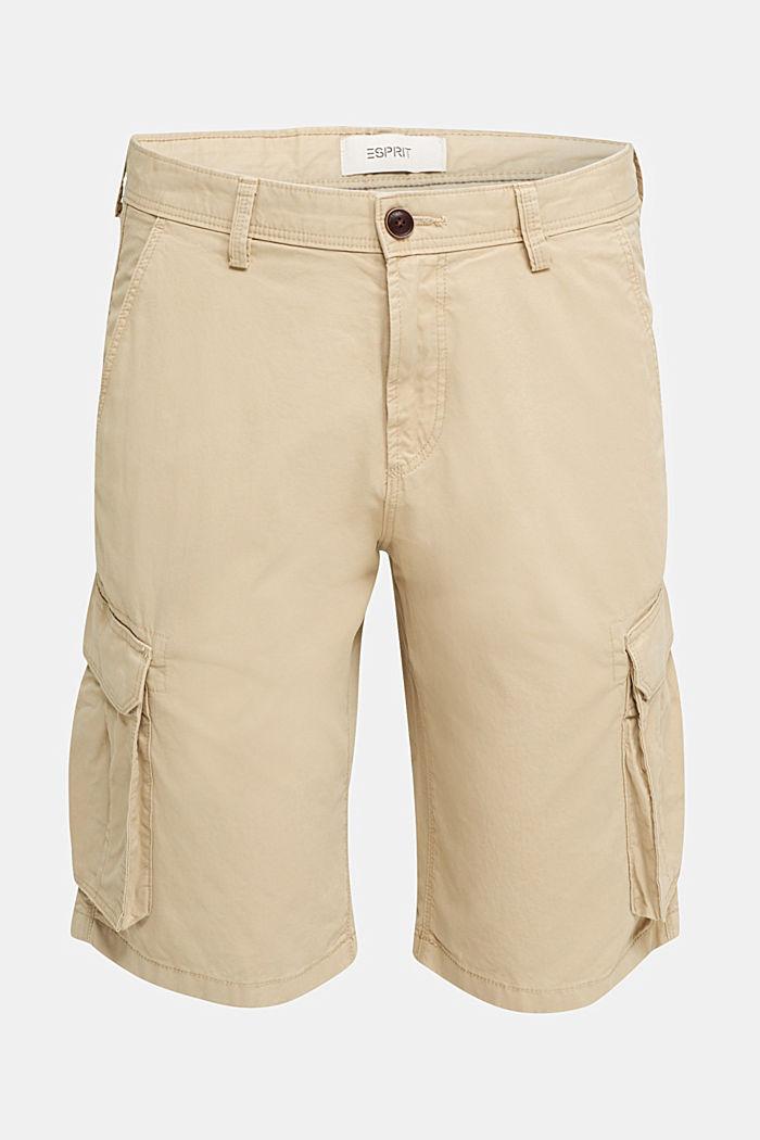 Cargo-Short aus 100% Baumwolle, BEIGE, detail image number 6