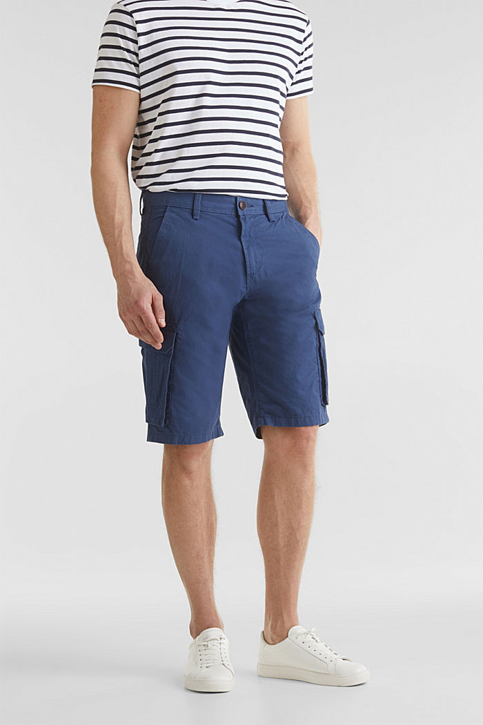 Cargo-Short aus 100% Baumwolle, DARK BLUE, detail image number 0