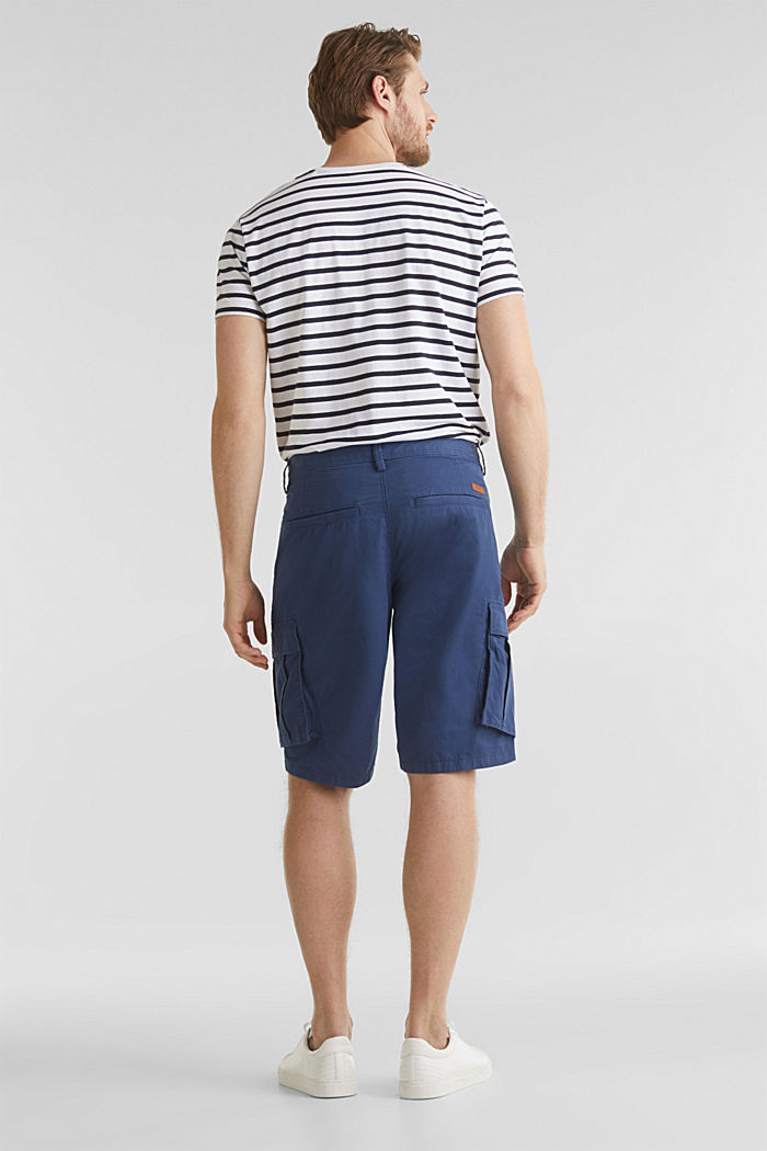 Cargo-Short aus 100% Baumwolle, DARK BLUE, detail image number 3