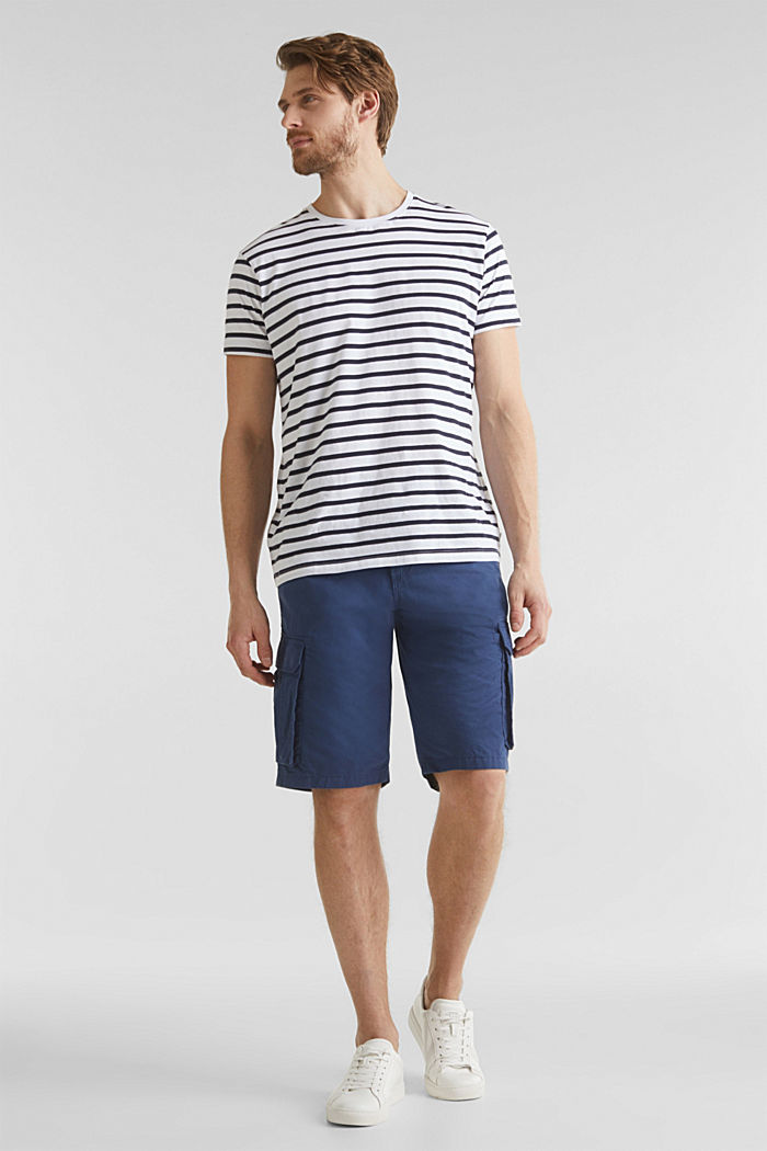 Cargo-Short aus 100% Baumwolle, DARK BLUE, detail image number 1