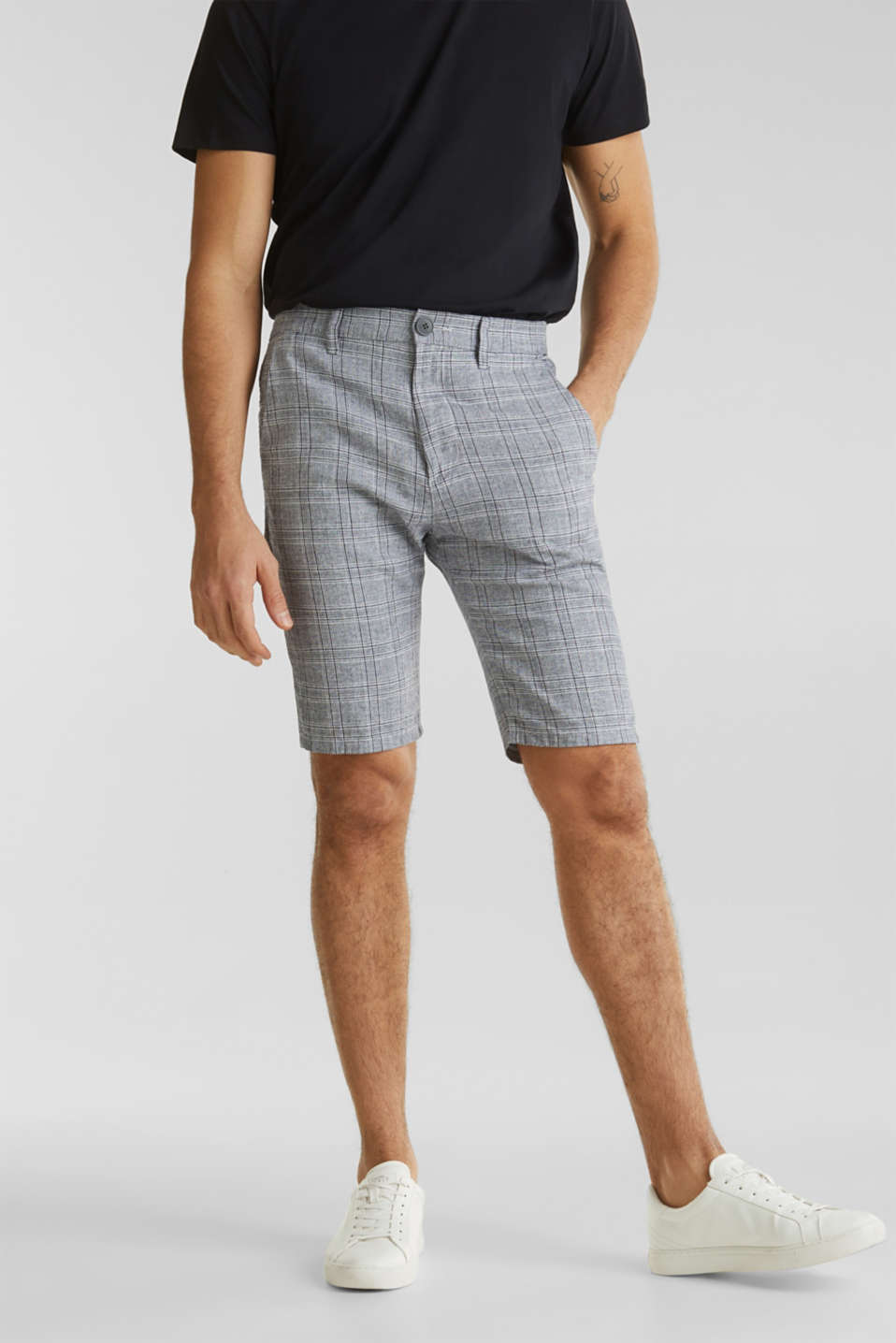 Esprit - SUMMER CHECK Mix + Match bermudat