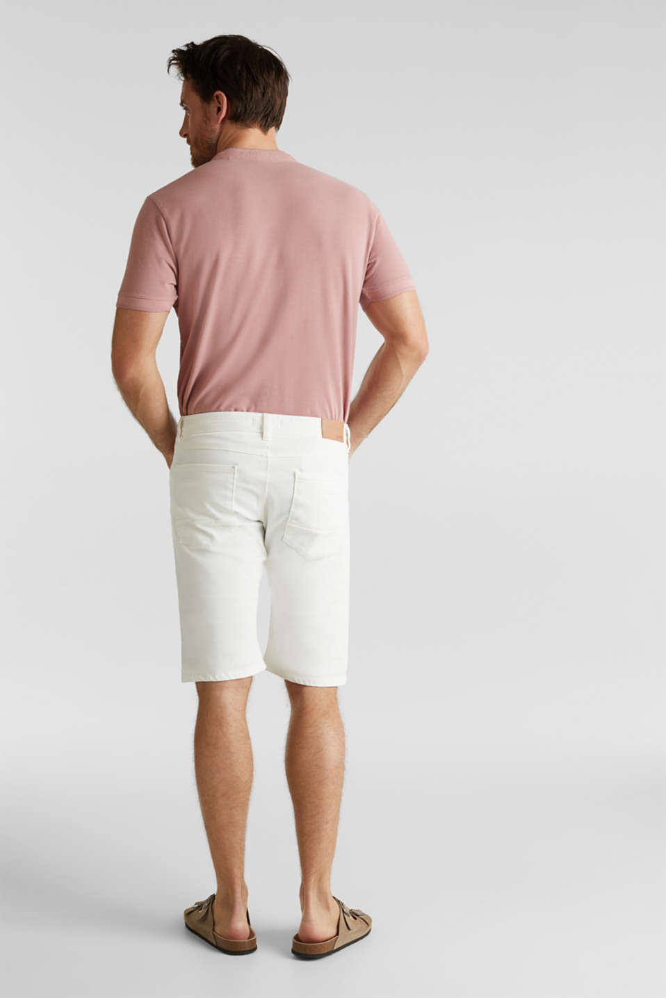 ARCHROMA shorts with organic cotton, OFF WHITE, detail image number 2