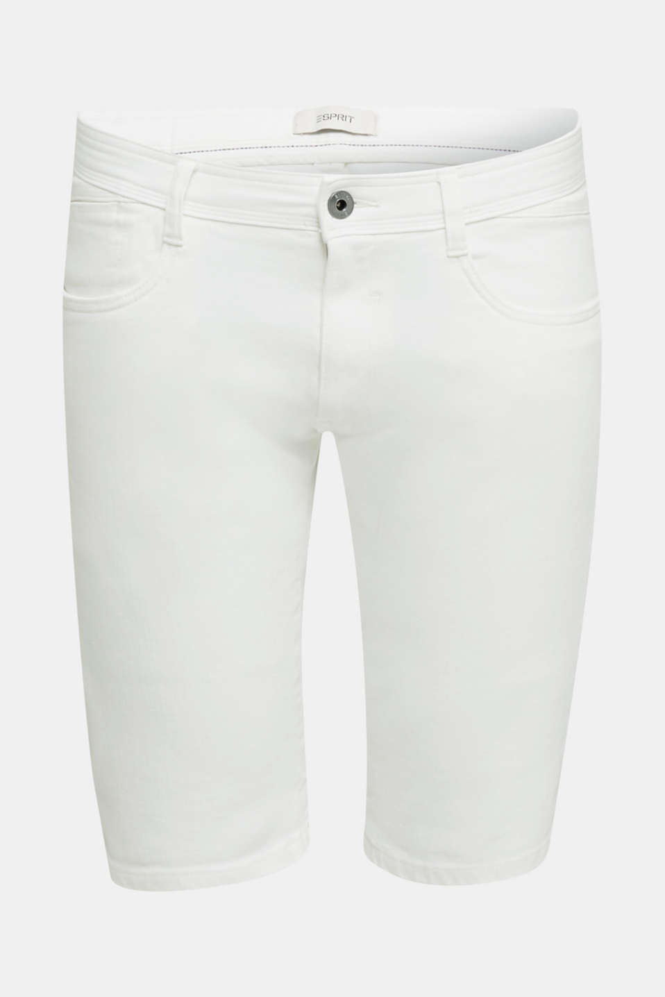 ARCHROMA shorts with organic cotton, OFF WHITE, detail image number 6