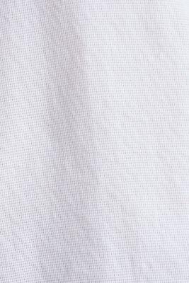 Textured shirt made of 100% organic, WHITE 5, detail