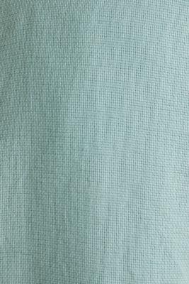 Textured shirt made of 100% organic, DUSTY GREEN 5, detail