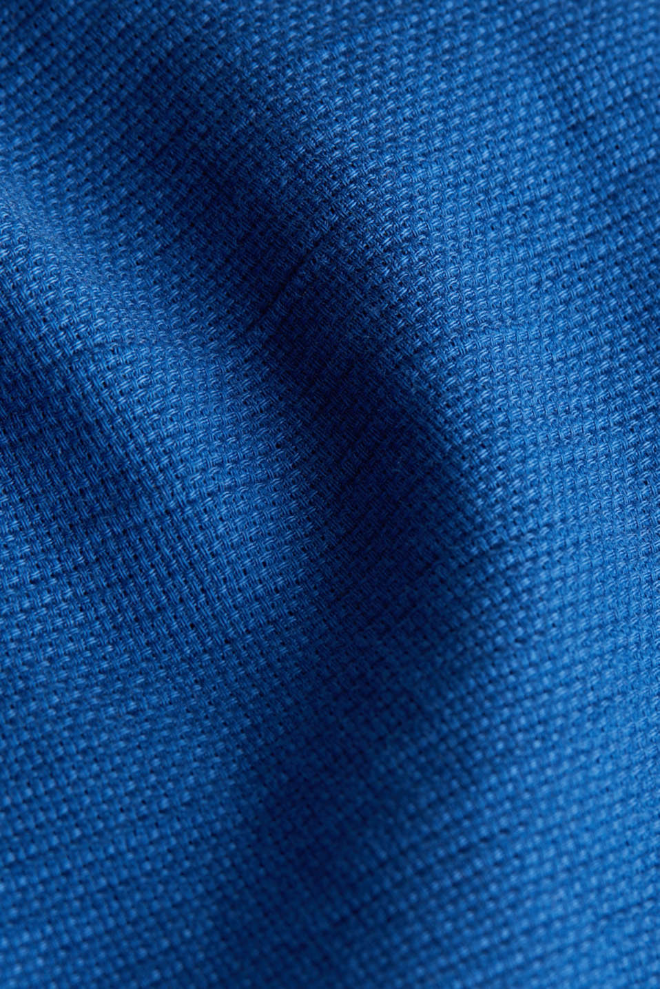 Textured shirt made of 100% organic, INK 5, detail image number 4