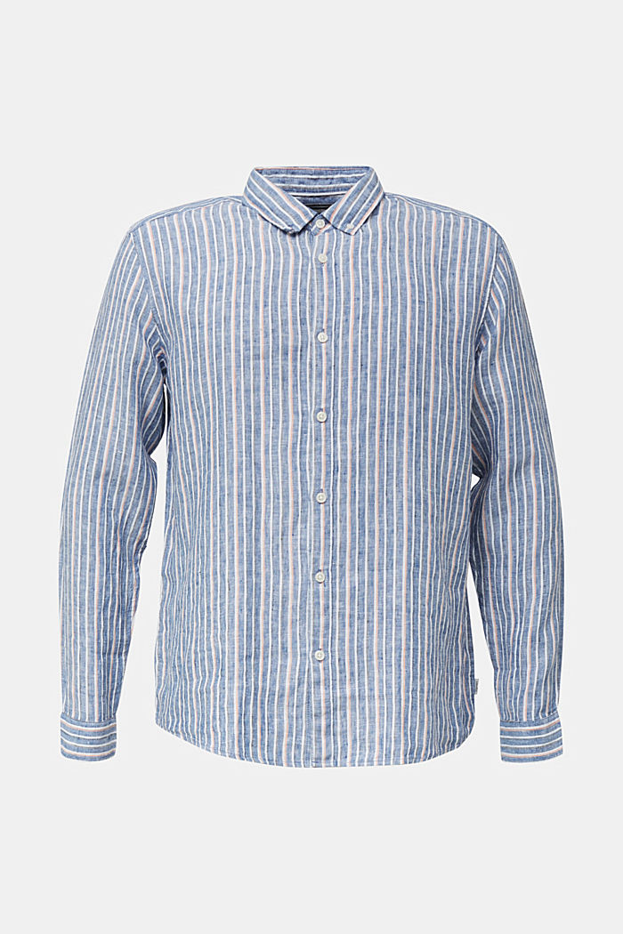 100% Leinen: Hemd mit Streifen