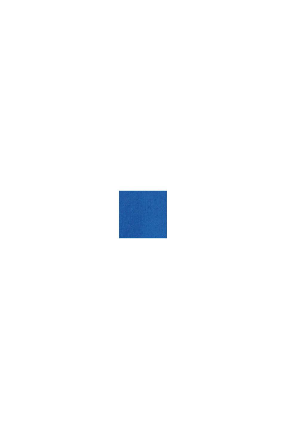 Linnenmix: overhemd met opstaande kraag, INK, swatch