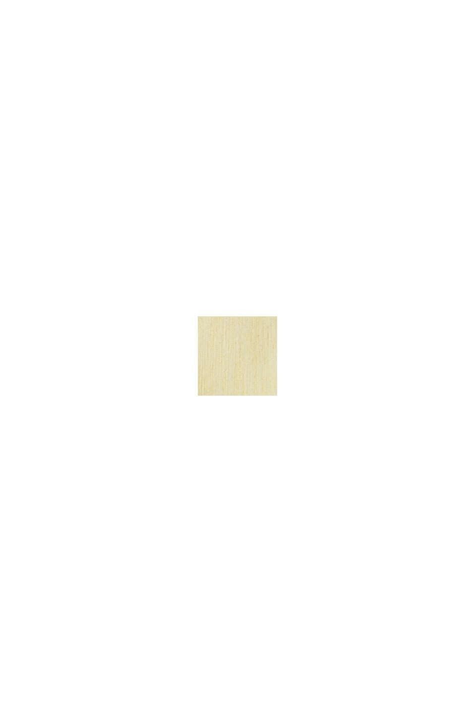 Linnenmix: overhemd met opstaande kraag, LIGHT YELLOW, swatch