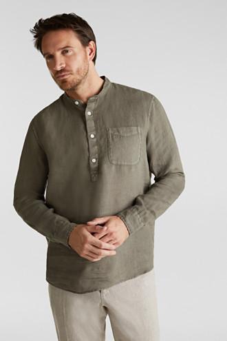 EarthColors®: Shirt, 100% linen