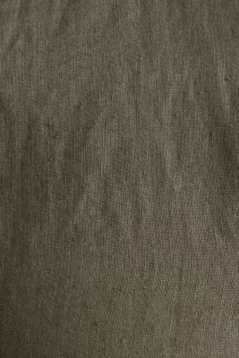 EarthColors®: Shirt, 100% linen, DARK KHAKI 2, detail
