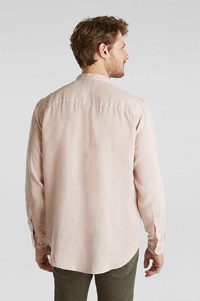 EarthColors®: Shirt, 100% linen, BLUSH, detail image number 2