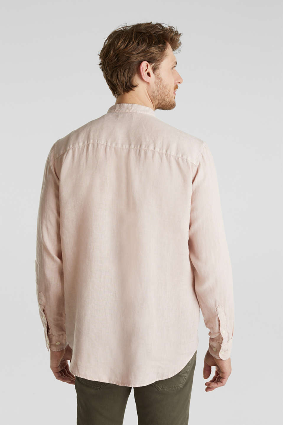 EarthColors®: Shirt, 100% linen, BLUSH, detail image number 2