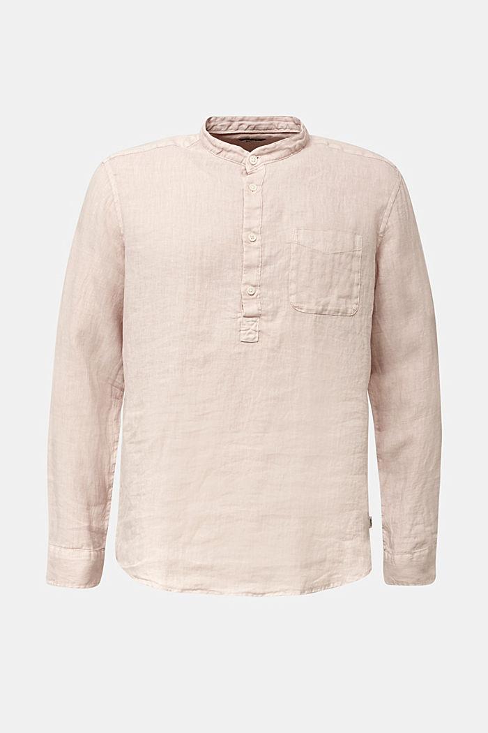 EarthColors®: Shirt, 100% linen, BLUSH, detail image number 4