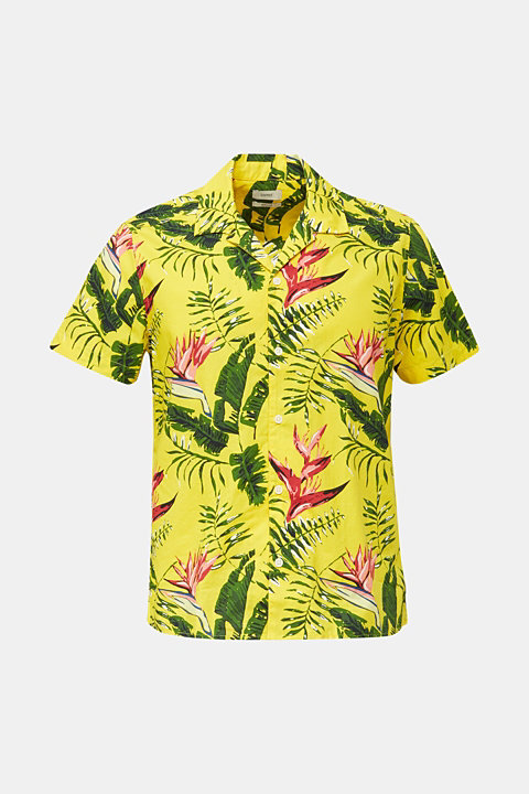 Hawaii shirt made of 100% organic cotton