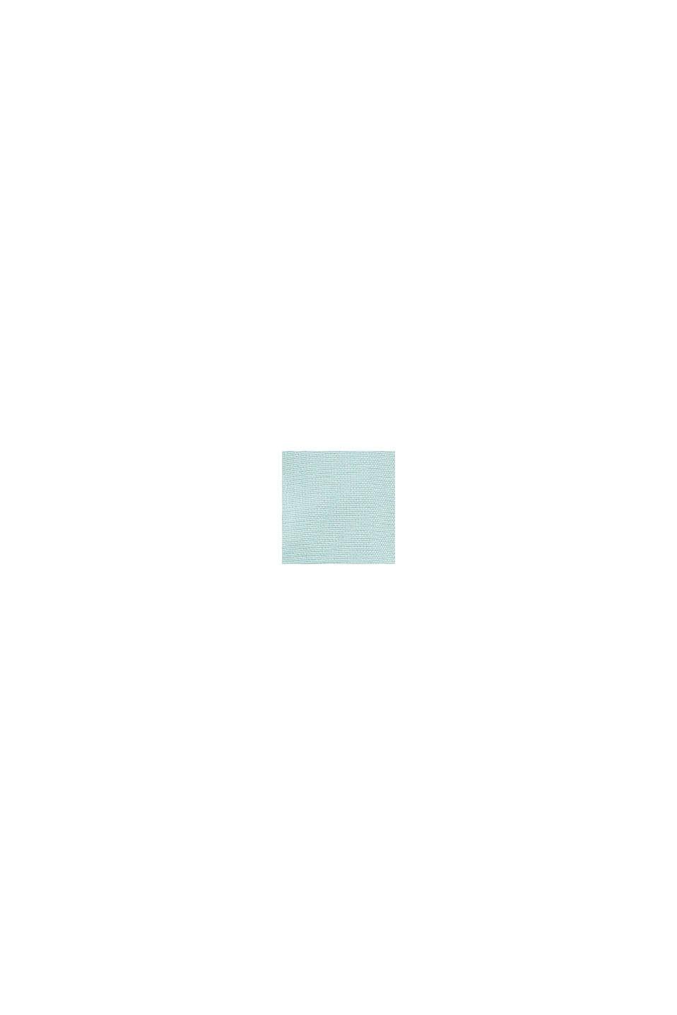 Materialemix-skjorte af 100% økologisk bomuld, DUSTY GREEN, swatch