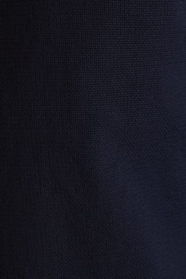Material-mix shirt made of 100% organic cotton, NAVY 5, detail