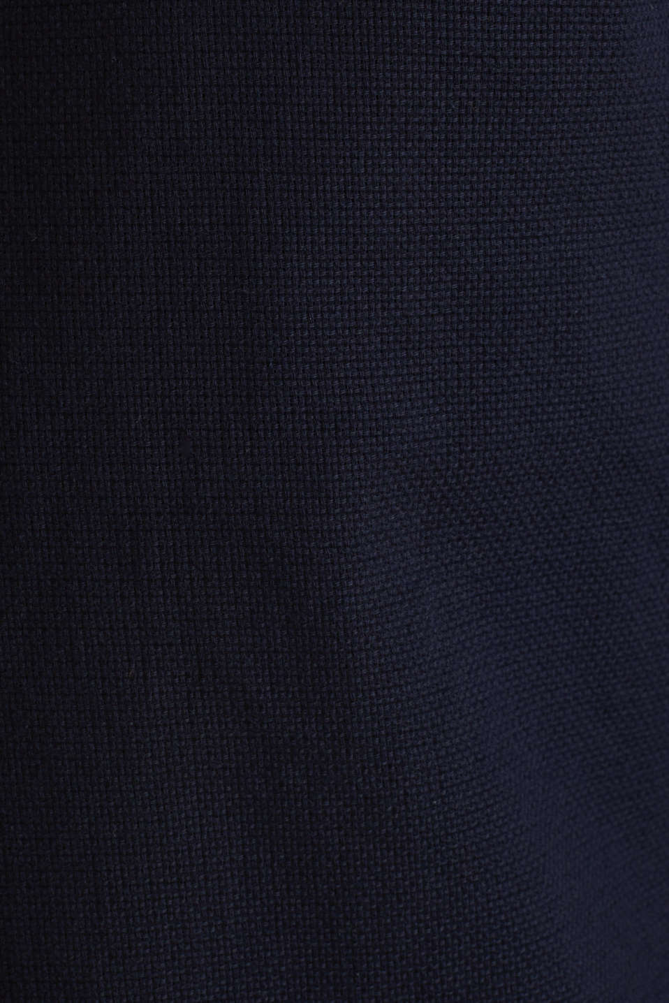 Material-mix shirt made of 100% organic cotton, NAVY 5, detail image number 4