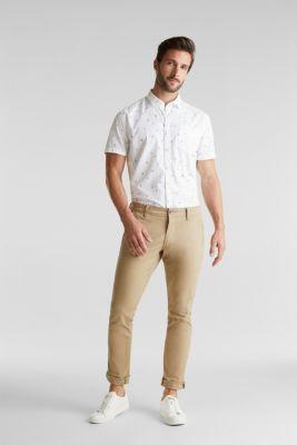 Print shirt made of 100% organic, WHITE, detail